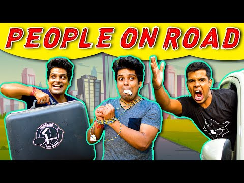 PEOPLE ON ROAD   The Half-Ticket Shows