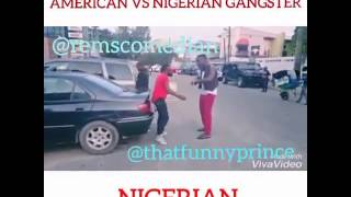 Funny Video: America VS Nigeria Gangstart