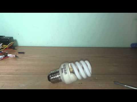 Le lampade fluorescenti spiegazione e cosa recuperare da una lampadina rotta