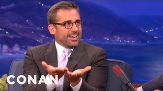 Steve Carell Remembers The Crappy Jobs Of His Youth - CONAN on TBS