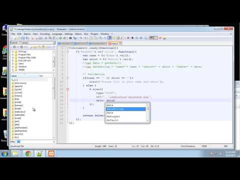 Learn jQuery Ajax and PHP by creating a Shoutbox application - Part4