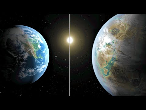 NASA Finds Most Earth-Like Planet Yet (видео)