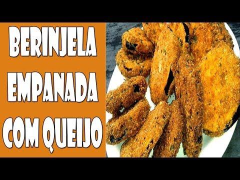 Peso ideal - Berinjela Empanada de Queijo - Receita Deliciosa!!