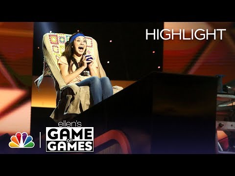 Ellen's Game of Games - In Your Face, Honey: Episode 4 (Highlight)