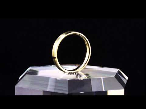The Best of All Worlds: 14K Yellow Gold Wedding Rings for Men