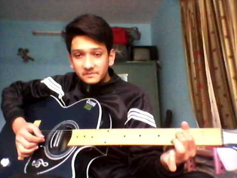 Jo tu mera humdard SONG ON SINGLE STRING ON GUITAR