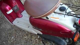 10. 2001 Yamaha Vino 50 for sale in Austin, Texas.  Super low miles