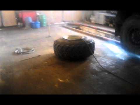Как бортировать колесо на камаз