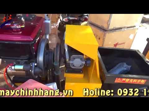 Máy phun vữa chạy Diesel HM1
