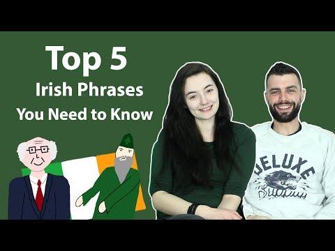 Top 5 Irish St Patrick's Day Phrases
