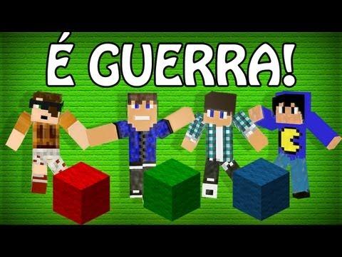 Minecraft: Corrida Pela Lã v3 - Parte 1