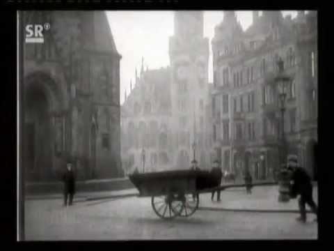 1905: Historischer Film von Saarbrücken im Jahre 19 ...