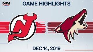 NHL Highlights   Devils vs Coyotes – Dec. 14, 2019 by Sportsnet Canada
