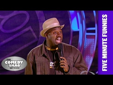 Corey HolcombMen cheat more than women!Shaq's Five Minute FunniesComedy Shaq