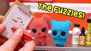 The Fuzzies Outbreak ! Toys and Dolls Pretend Play for Kids with LOL Surprise Blind Bags | SWTAD