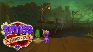 Let's Play Spyro: A Hero's Tail: Part 9 - Crocovile Swamp [2/2]