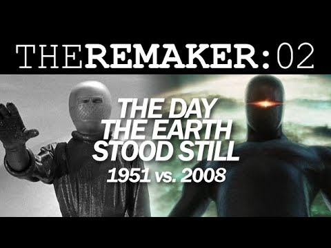 The Remaker: The Day The Earth Stood Still 1951 vs. 2008