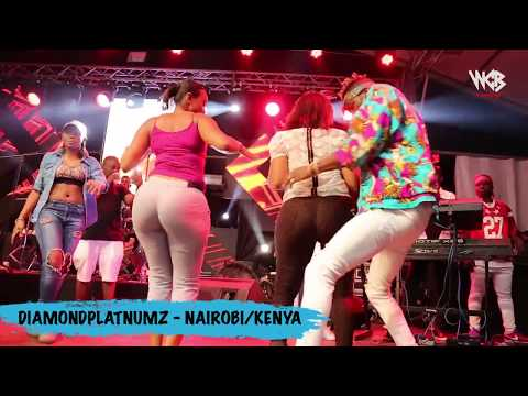 Diamond Platnumz - Live Performance at Koroga Festival / Nairobi Kenya (part 1)