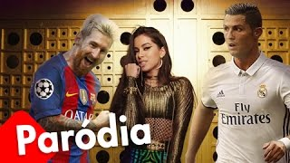 Messi canta pra CR7 - Paródia