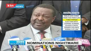 News sources; Raila not on the ballot? 10th August 2016