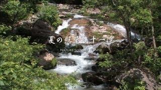 夏の照葉峡十一滝