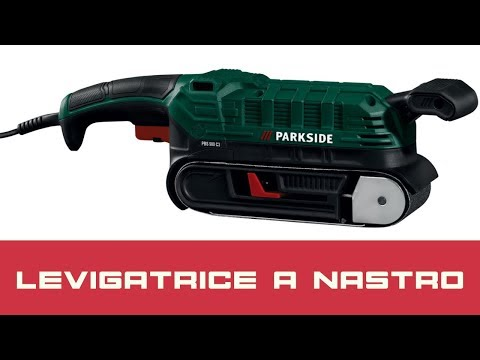 Levigatrice a nastri video watch hd videos online without for Levigatrice parkside