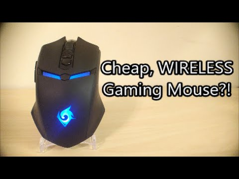 Ultra Cheap Wireless Gaming Mouse - Review