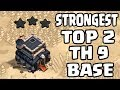 NEW TH9 WAR BASE 2018 Anti 3 STAR | Town Hall 9 (TH9) WAR BASE CLASH OF CLANS