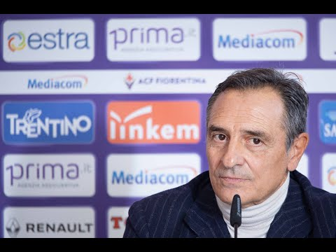 Cesare Prandelli verso Milan vs Fiorentina - Serie A