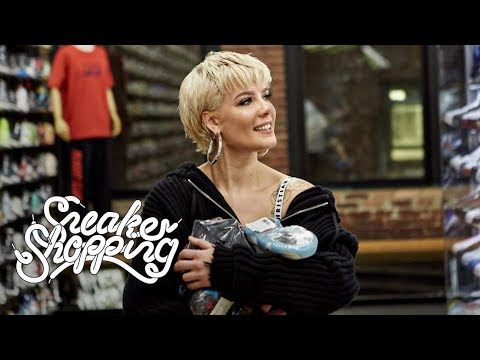 Video Halsey Goes Sneaker Shopping With Complex download in MP3, 3GP, MP4, WEBM, AVI, FLV January 2017