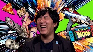 21 Stupid Questions with Suda51 - Up at Noon by IGN