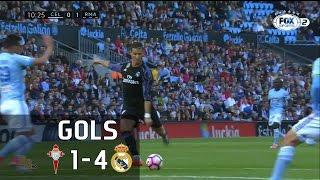 Gols - Celta de Vigo 1 x 4 Real Madrid - 21ª Rodada La Liga 2016-2017 - 17/05/2017Narração: Silva Jr., Comentários: Rodrigo BuenoEstádio: Balaídos