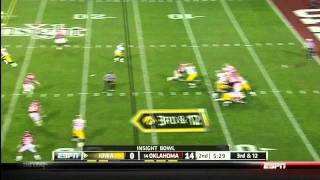 Riley Reiff vs Oklahoma 2011