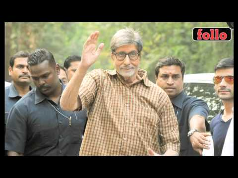 OMG! Amitabh Bachchan Gets Injured During 'Te3n' Shoot