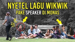 Video PRANK WIKWIK PAKE SPEAKER AUTO NGAKAK DI MONAS MP3, 3GP, MP4, WEBM, AVI, FLV April 2019