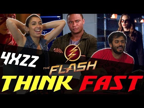 The Flash - 4x22 Think Fast - Group Reaction (видео)