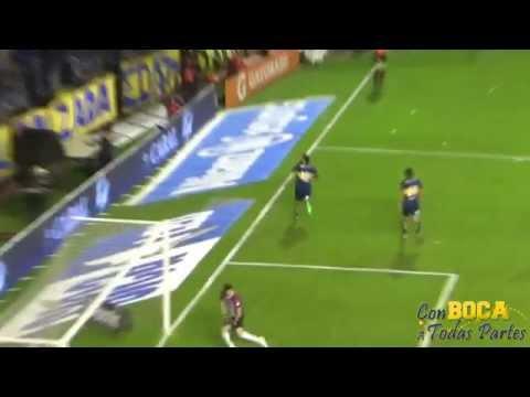 GOL DE TEVEZ + Cuando vas a la cancha / BOCA-GODOY CRUZ 2015 - La 12 - Boca Juniors