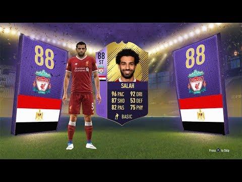 INSANE 88 ST POTM SALAH CARD! (CHEAP / COMPLETE) - FIFA 18 Ultimate Team (видео)
