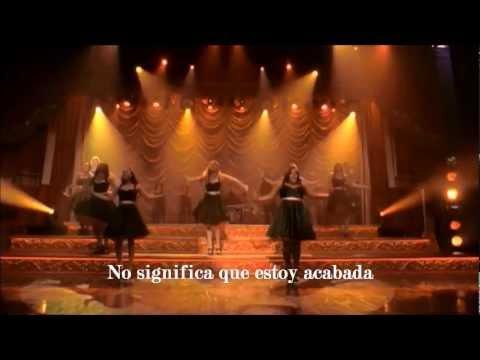 Glee - Stronger (What Doesn't Kill You) - (Subtitulos en Español)