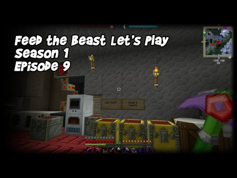 Feed the Beast Let's Play Season 1 Episode 9 Quarry and More Power!