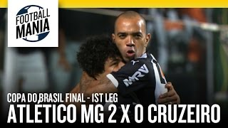 Atlético MG defeated Cruzeiro by 2-0 in the 1st leg of Copa do Brasil final at Independência stadium. The 2nd leg will be played at Mineirão in 26 Nov. --- Copa ...