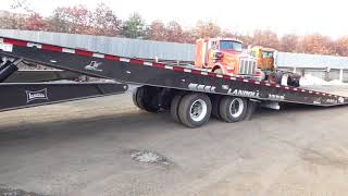 1. 2018 Landoll 440A-53 Tandem Axle Hydraulic Sliding Axle Trailer with Winch - TRO 1220171