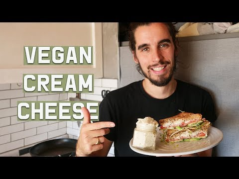 ULTIMATE VEGAN CREAM CHEESE // Easy Recipes