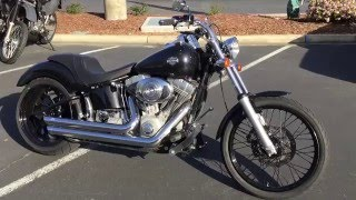 2. Contra Costa Powersports-Used 2004 Harley Davidson FXSTI Softail standard V-twin cruiser motorcycle