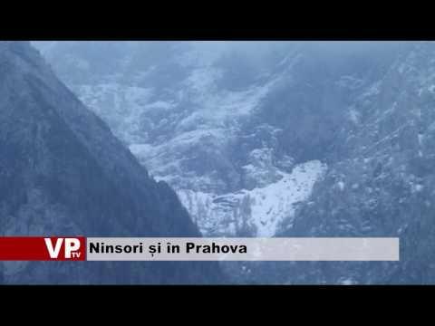 Ninsori și în Prahova