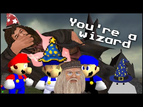 64 - AUDIENCE, YOU ARE A WIZARD, YES YOU ARE,NOW DEAL WITH IT NOW BE LIKE MARIO AND SMG4 AND GO TO HOGWARTS TO LEARN SPELLS AND CRAP! visit my facebook! https://www.facebook.com/pages/Supermarioglitchy...