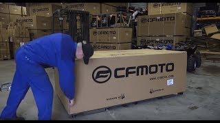 4. CF600 CFMOTO ATV komplekteerimine