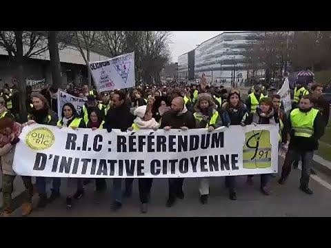 Κίτρινα Γιλέκα: Έβδομο Σάββατο κινητοποιήσεων