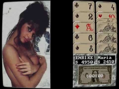 Cover Girl Strip Poker Amiga