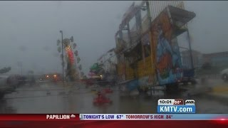 Video Winds Topple Taste of Omaha Carnival Ride MP3, 3GP, MP4, WEBM, AVI, FLV Juli 2018